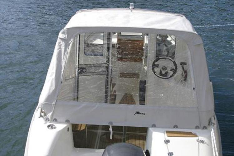 кабину от автомобиля на лодку