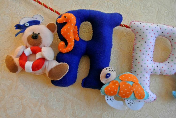 Подарки из фетра детям 63