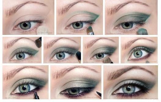 Красивый макияж глаз для серых глаз в домашних условиях пошагово