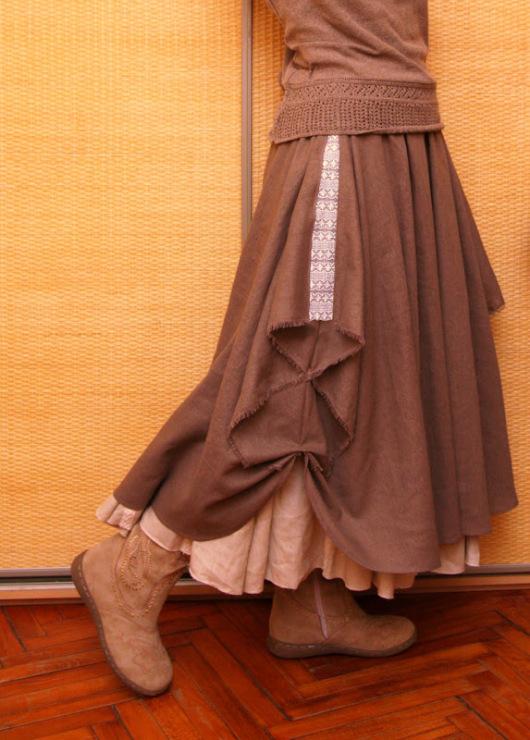 Uffle skirt tutorial - picmia