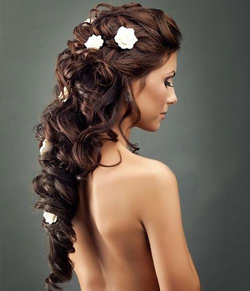 Фото причесок с длинными накладными волосами
