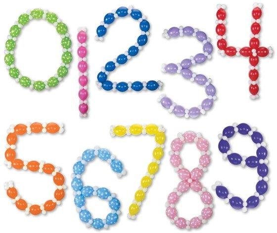 Как сделать из шаров цифру