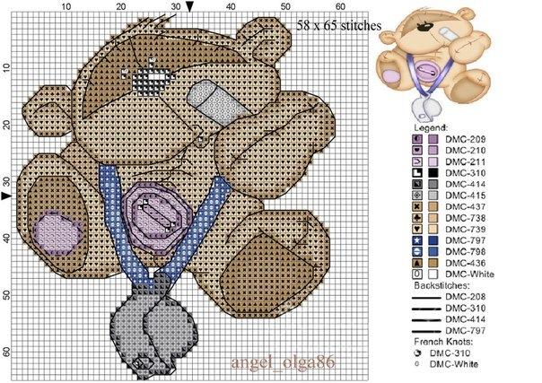 Gallery.ru / фото #11 - вышивка - детское зверюшки 3 - semyn.