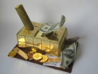 Оформление денежного подарка для мужчины