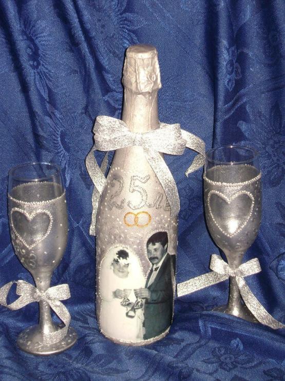 Оформление к серебряной свадьбе своими руками 38