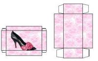 Коробка для кукольной обуви