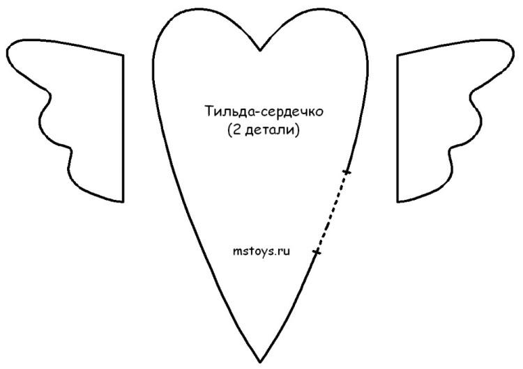 Трафарет тильды