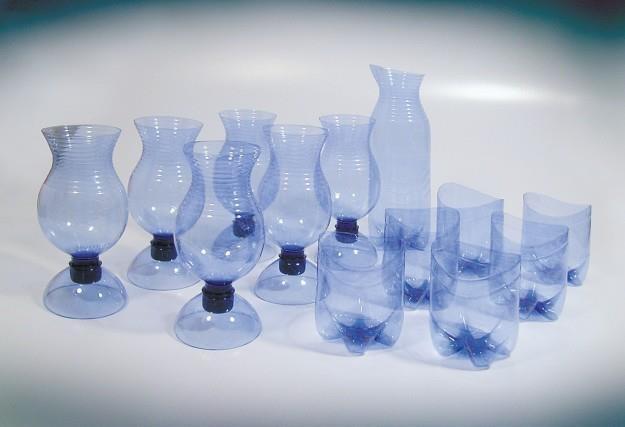 Стакан из пластиковой бутылки