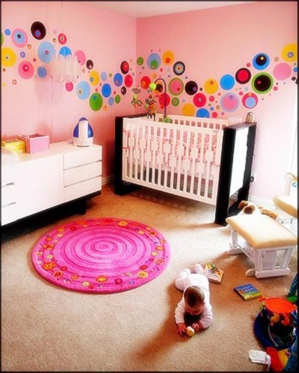 Фото как украсить стены в детской комнате