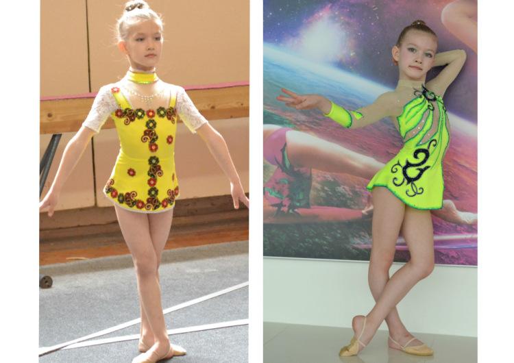 Как сделать гимнастический костюм своими руками 76
