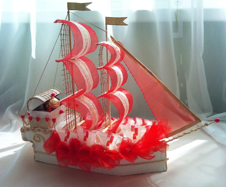 Как сделать кораблики своими руками 49