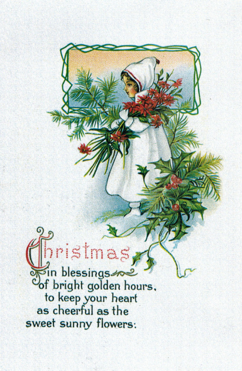 Поздравление с рождеством открытка на английском