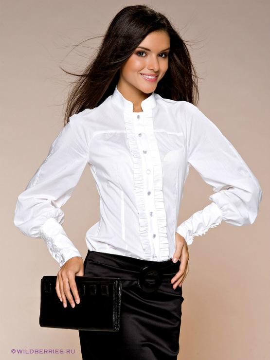 Белые Блузки Для Офиса Доставка
