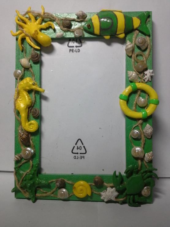 Рамка из глины своими руками